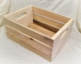 Solid Wood Crate