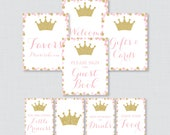 Printable Pink and Gold P...