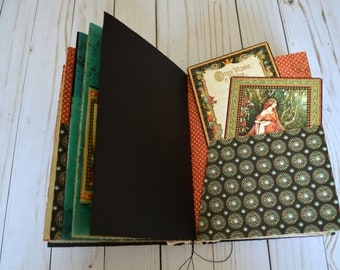 Fairytale journal diary, enchanted journal, once upon a time book, bride's journal, diary, vintage guest book, keepsake, fairytale wedding
