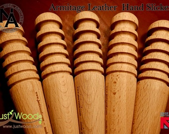 Just Wood & Nigel Armitage Hand Slicker, A truly useful tool, ideal for the leather craftsman leather burnisher