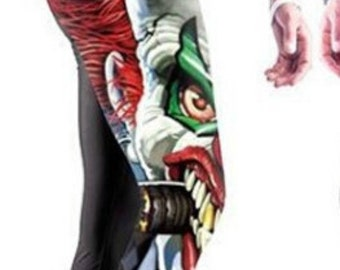 The Joker Clown Leggings Great for Yoga Hula Hoop or Dance