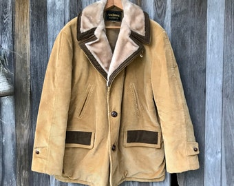 Western Jacket, Fall Coat, Winter, Corduroy, Big & Tall