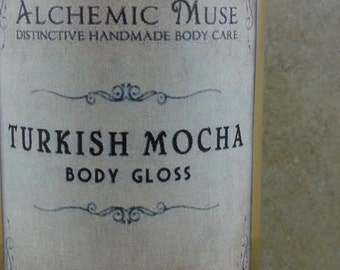 Turkish Mocha - Body Gloss - Turkish Coffee, Marshmallow, Hazelnut, Cocoa Absolute