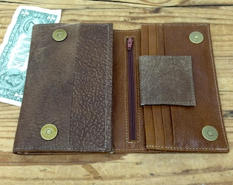 Sale!!! Brown Women leather wallet, Leather wallet for woman, women's leather wallet, leather woman wallets, Trifold wallet