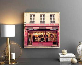 Paris photography, mothers day gift, framed wall art, Paris wall art, wall art canvas, extra large wall art, Paris print, Europe, gallery