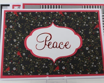 Peace Christmas Cards Five Pack Assortment