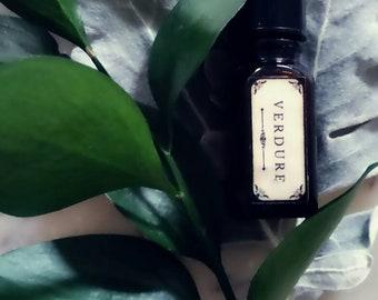 Wild Wood Botanical perfume /Verdure violet leaf, verbena, lime, basil, mint, sambac  natural perfume, plant based, high-end Natural Perfume