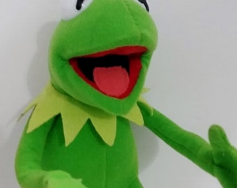 "PLUSH- Kermit the Frog, 10"" Poseable"