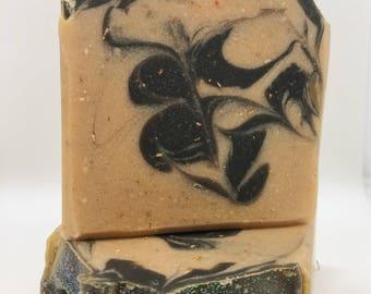Sultry Black Jasmine-Handmade artisan goats milk soap-cold process soap