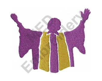 Choir - Machine Embroidery Design, Church Choir