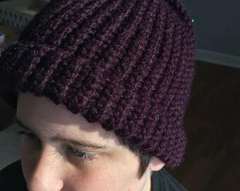 Knit Beanie (with rim)