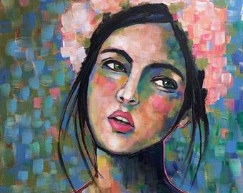 Portrait of Meliana - Original Portrait Painting