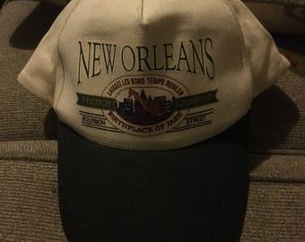 Vintage New Orleans Baseball Cap