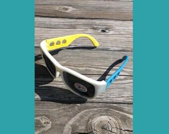 Rubber Framed Sunglasses