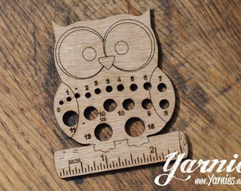 Yarnies Owl Knit and Crochet Tool