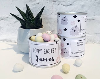 Easter Egg Tins | Easter Eggs | Personalised Easter eggs | Easter Treats | Easter, Easter, Easter