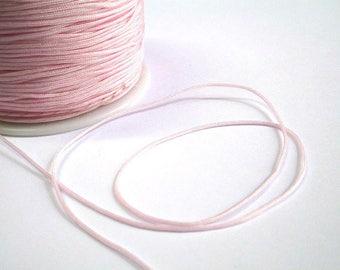 5 m thread light pink nylon 1 mm