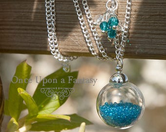 Blue bubbles necklace - spring / summer 2015 Once Upon a Fantasy
