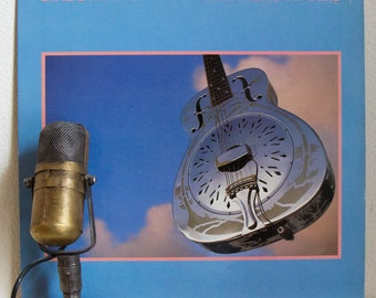 """Dire Straits, Record Album 1980s Pop Rock Vinyl LP, Dire Straits - """"Brothers in Arms""""(Original 1985 WB Records w/""""Money for Nothing"""")"""