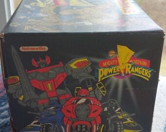 Vintage Mighty Morphin Power Rangers STAMP WORKSHOP 1993 45 MMPR Activity Set Rare 90s