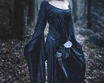 Velvet Medieval Dress - MAKE TO ORDER