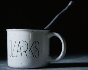Lake of the Ozarks Mug  |  OZARKS | Ceramic Camp Mug | 13 oz.