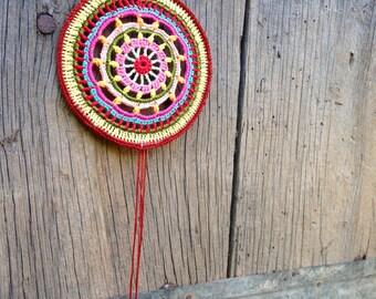 DreamCatcher crochet / Dreamcatcher crochet