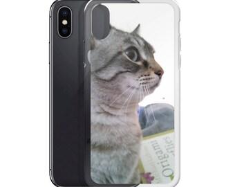 Grey Tabby iPhone Case