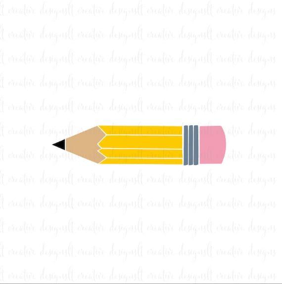 pencil svg pencil monogram svg school svg education svg