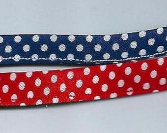 Polka dotted personalize bracelet