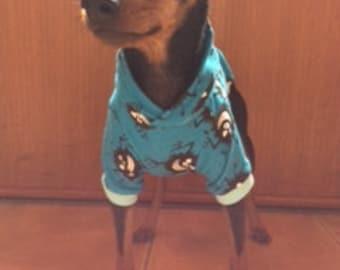 Dog Hoodie Monster