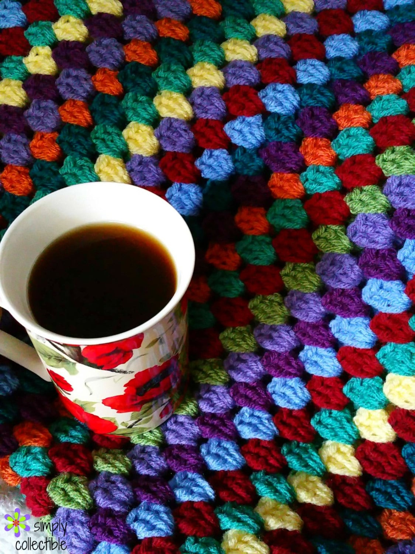 Afghanische Muster Häkelanleitung Decke Muster Decke