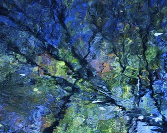 Watercolor Reflections - Nature Fine Art Photography
