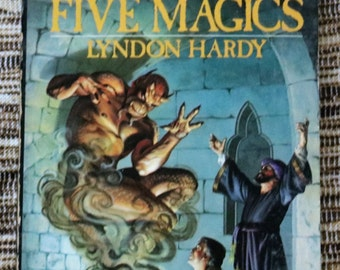 Master Of The Five Magics, Lyndon Hardy, 1980, First Edition