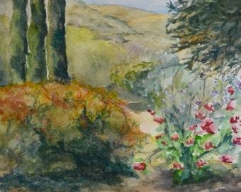 Greek Garden Print
