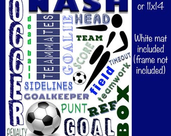Personalized Soccer Collage
