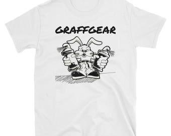 "Mannen ""Spray Bunny"" T-shirt"