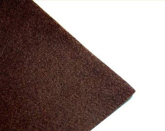 Sheet of felt 1 mm - A4 size - dark brown - DIVFEU16MARF847