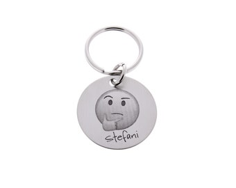 Emoji Keychain, Custom Keychain, Personalized, Emoticon, Emoji, Emojis, Personalized Emoji, Funny Gifts, Cool Gifts, Unique Gifts