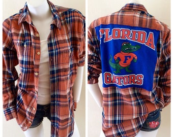 University of Florida Gators Custom Flannel Shirt