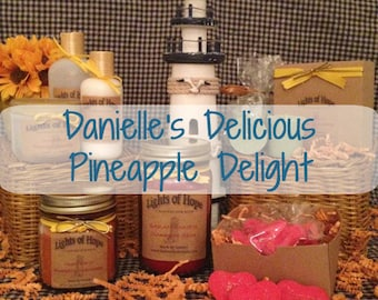 Danielle's Delicious Pineapple Delight ~ Candles