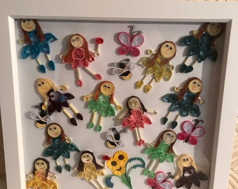 Quilling dollys