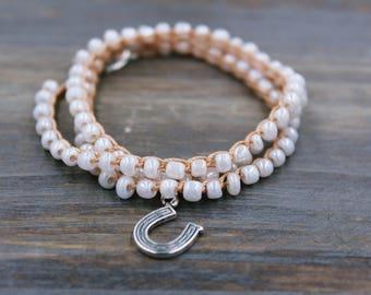 Horseshoe Charm Bracelet, Horse Shoe Bracelet, Silver Horseshoe Bracelet, Horse Charm Bracelet, Horseshoe Jewelry Horseshoe Gift Horse Gifts