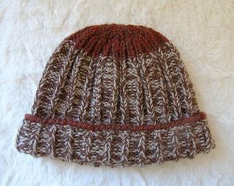Child Hat sport winter trend hand knitted wool