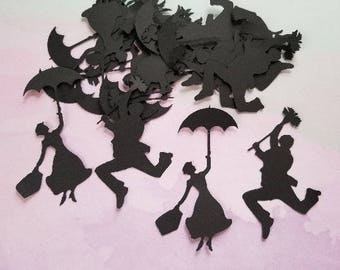 Mary Poppins and Bert. Party Decorations / Embellishments. #BUG-51