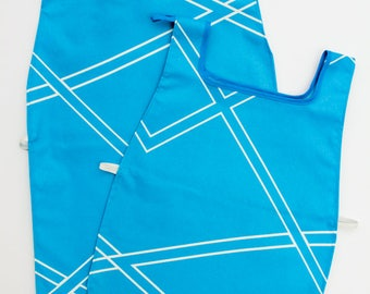 Waterproof Apron - Toddler & Primary - Blue