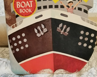 1965 golden shape book - The Boat Book