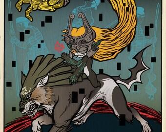 Tale of Zelda - Twilight - Poster Print