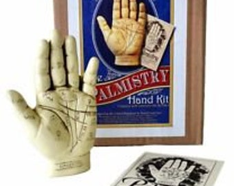 The Palmistry Hand Kit Complete with Guide