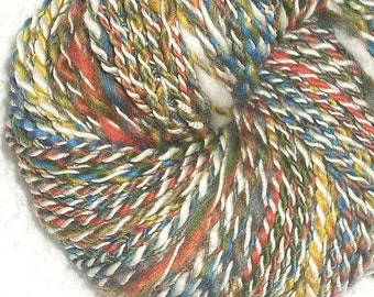 Motley Whimsical Art Yarn - 92 yards handspun